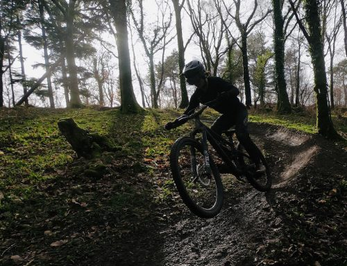 Mountain biking in Holdon Forest